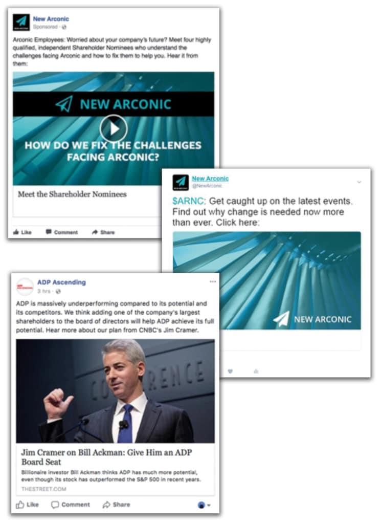 Social media and shareholder activism Ethical Boardroom