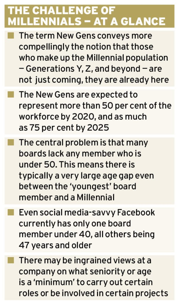 The New Generations within boardrooms Ethical Boardroom