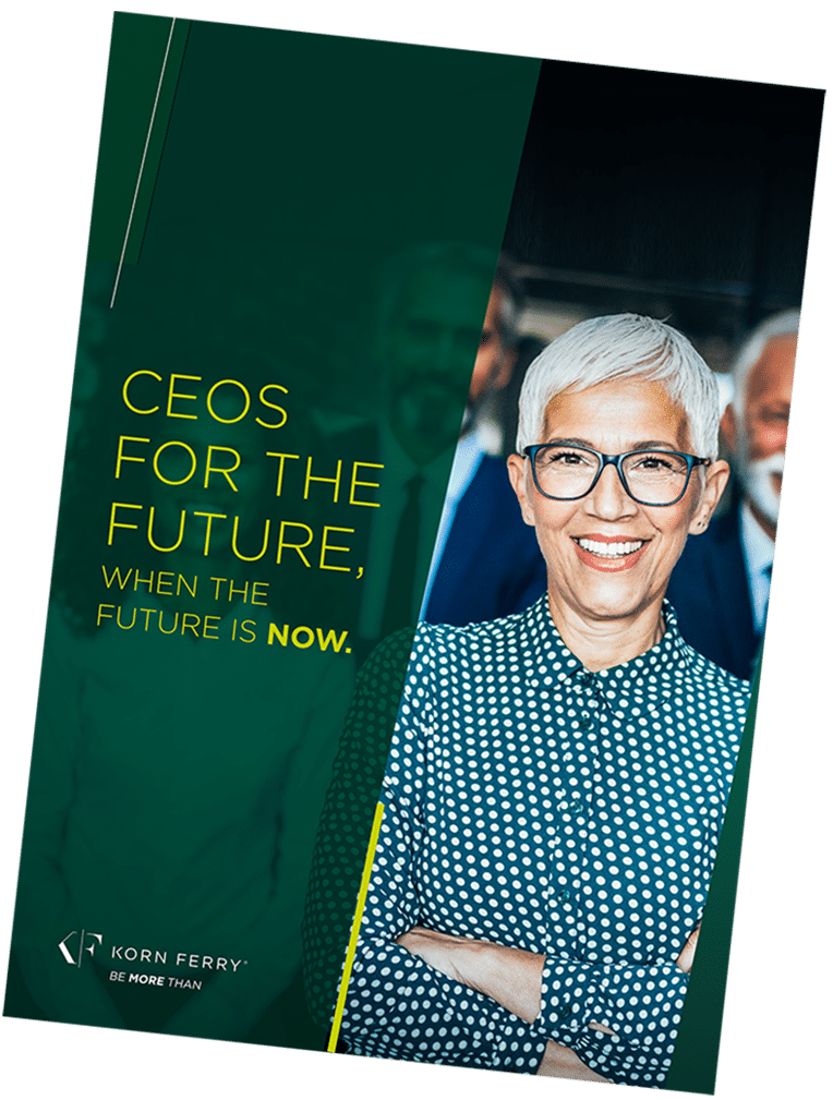 The CEO of the Future is the CEO of Right Now Ethical Boardroom
